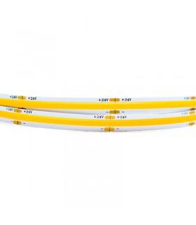 TIRA LED 24V 12W/M COB 4000K - 5 METROS