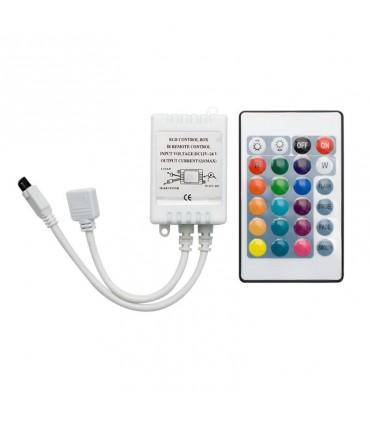 CONTROL REMOTO TIRA LED 12-24V RGB 12A