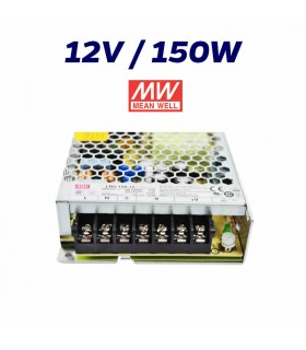 FUENTE ALIMENTACIÓN LED 12V MEAN WELL 150W