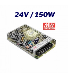 FUENTE ALIMENTACIÓN LED 24V MEAN WELL 150W