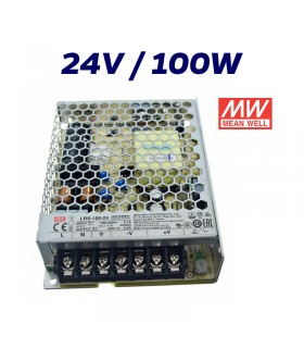 FUENTE ALIMENTACIÓN LED 24V MEAN WELL 100W