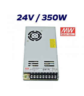 FUENTE ALIMENTACIÓN LED 24V MEAN WELL 350W