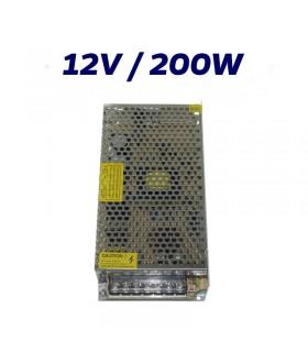 FUENTE ALIMENTACION LED 12V INTERIOR 200W