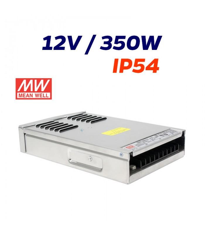FUENTE ALIMENTACIÓN MEANWELL 12V EXTERIOR 350W ip54