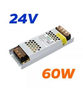 FUENTE ALIMENTACION 24V 60W IP20 2.5A LH