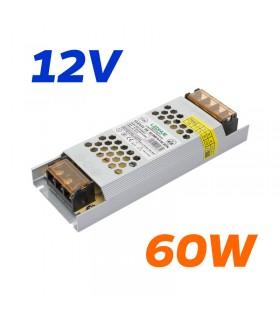 FUENTE ALIMENTACION 12V 60W IP20 5A LH