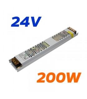 FUENTE ALIMENTACION 24V 200W IP20 8.3A LH