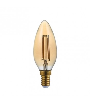 BOMBILLA LED C37 E14 6W