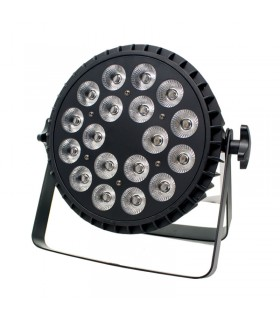LUZ DE FIESTA 18*6W 6 IN 1 RGBWA+UV PAR LIGHT 120W