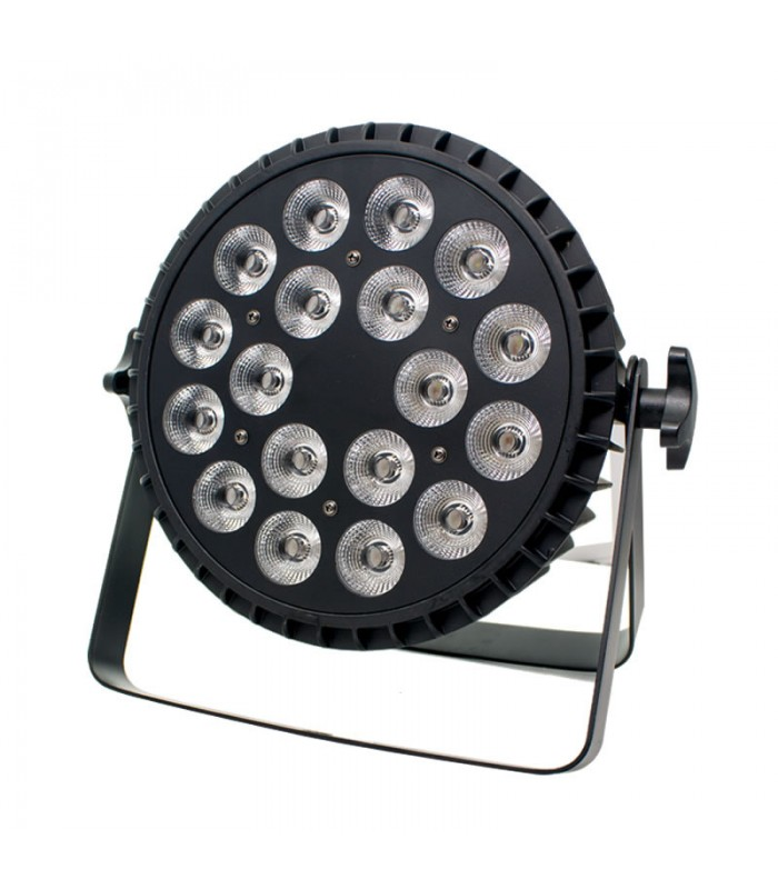LUZ DE FIESTA 18*6W 6 IN 1 RGBWA+UV PAR LIGHT 120W