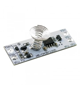 INTERRUPTOR MINI TACTIL PERFIL TIRA DE LED 12V