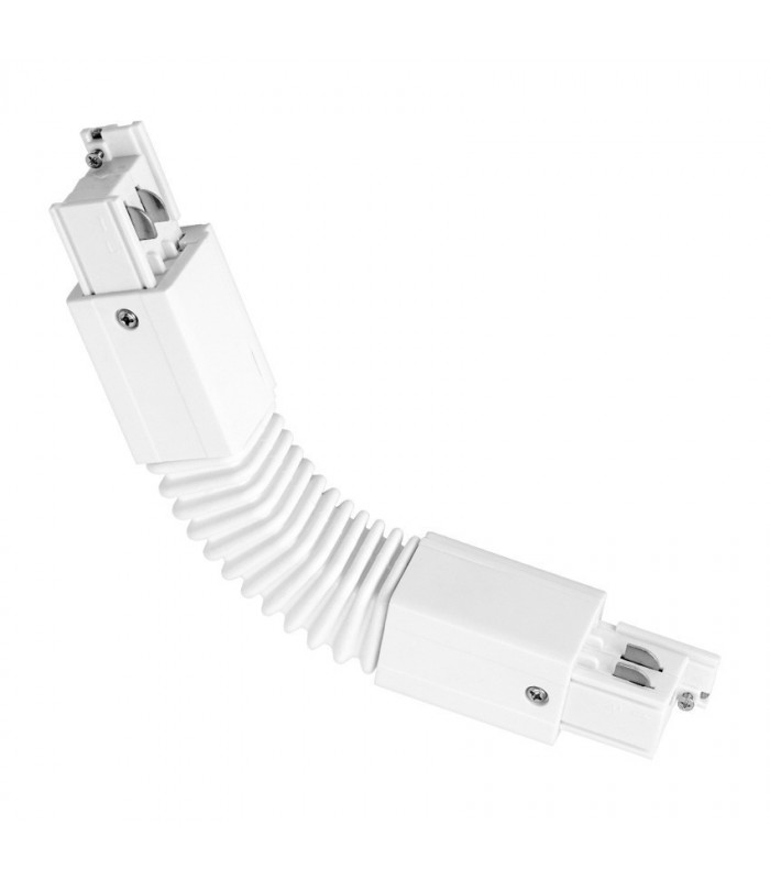 "CONECTOR LED CARRIL TRIFASICO TIPO ""L"" FLEXIBLE"