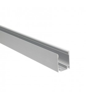 PERFIL ALUMINIO TIRA NEON LED 1M 18 W/M