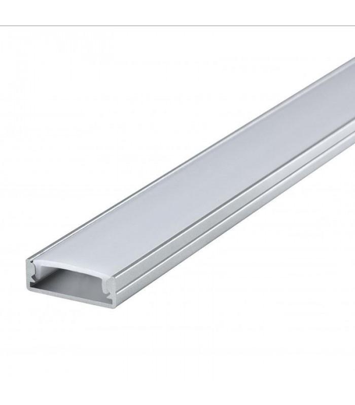 perfil aluminio tira de 12v superficie 2 metros