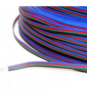 CABLE MULTIFILAMENTO SOLDAR TIRA LED RGB