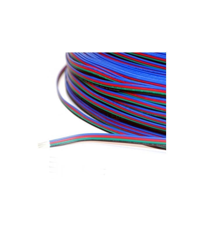 CABLE MULTIFILAMENTO SOLDAR TIRA LED RGB