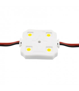 MODULO LED COLOR BLANCO 1w/UNIDAD 4 CHIPS IP65
