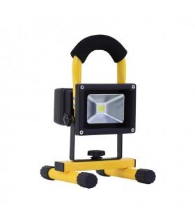 FOCO PROYECTOR LED PORTATIL BATERIA COB 30W IP44