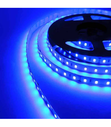 TIRA LED 12V SMD 5050 IP20 AZUL