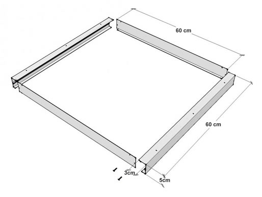 Marco panel led